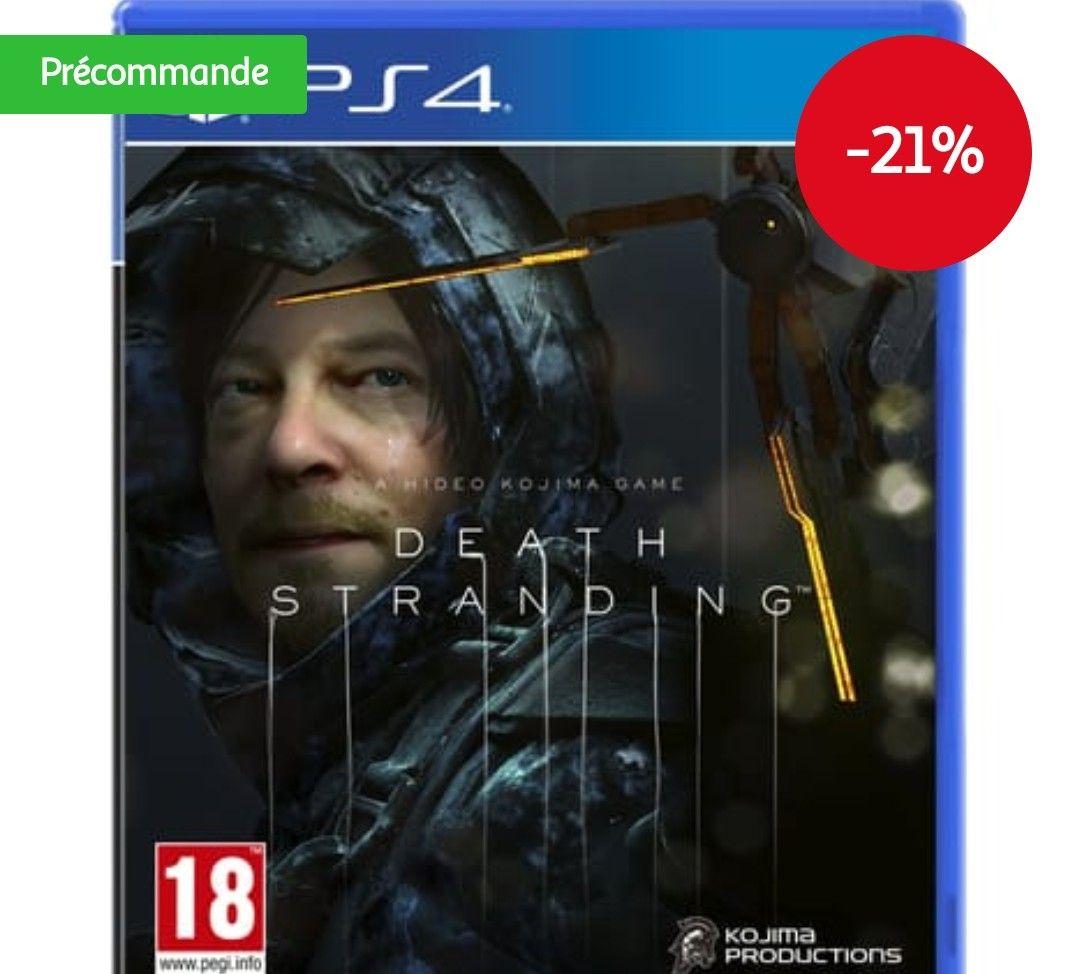 [Précommande] Jeu Death Stranding PS4