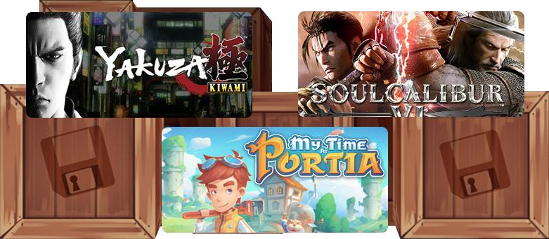 Humble Monthly Bundle : Soulcalibur VI + My Time at Portia + Yakuza Kiwami + 4 Jeux sur PC (Dématérialisés - Steam)