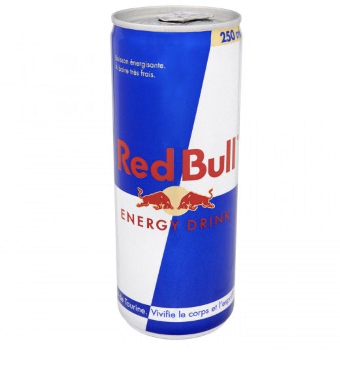 1 canette de Redbull Energy Drink gratuite - 250ml