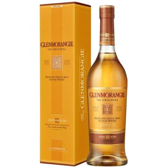 Bouteille de Single Malt Whisky Glenmorangie The Original - 70cl + Etui