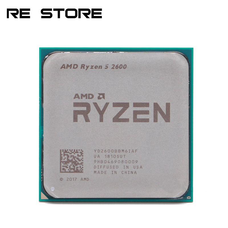 Processeur AMD Ryzen 5 2600 - 3,4 GHz