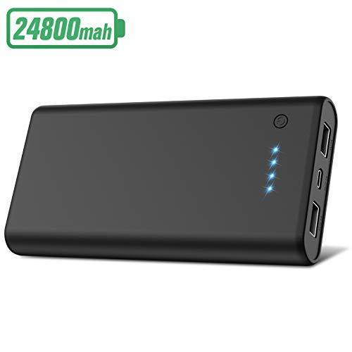Batterie Externe USB Hetp Powerbank avec 2 Ports - 24800mAh (Via Coupon - Vendeur tiers)