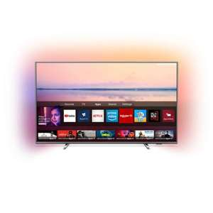 """TV 55"""" Philips 55PUS6754/12 - 4K UHD, HDR10+, Ambilight 3 côtés, Dolby Vision & Atmos"""