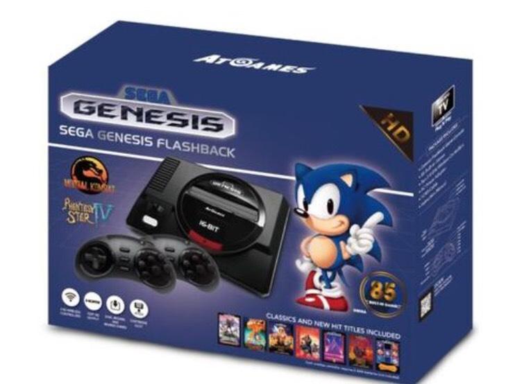 Console Retro Sega Megadrive Mini + 85 jeux HD