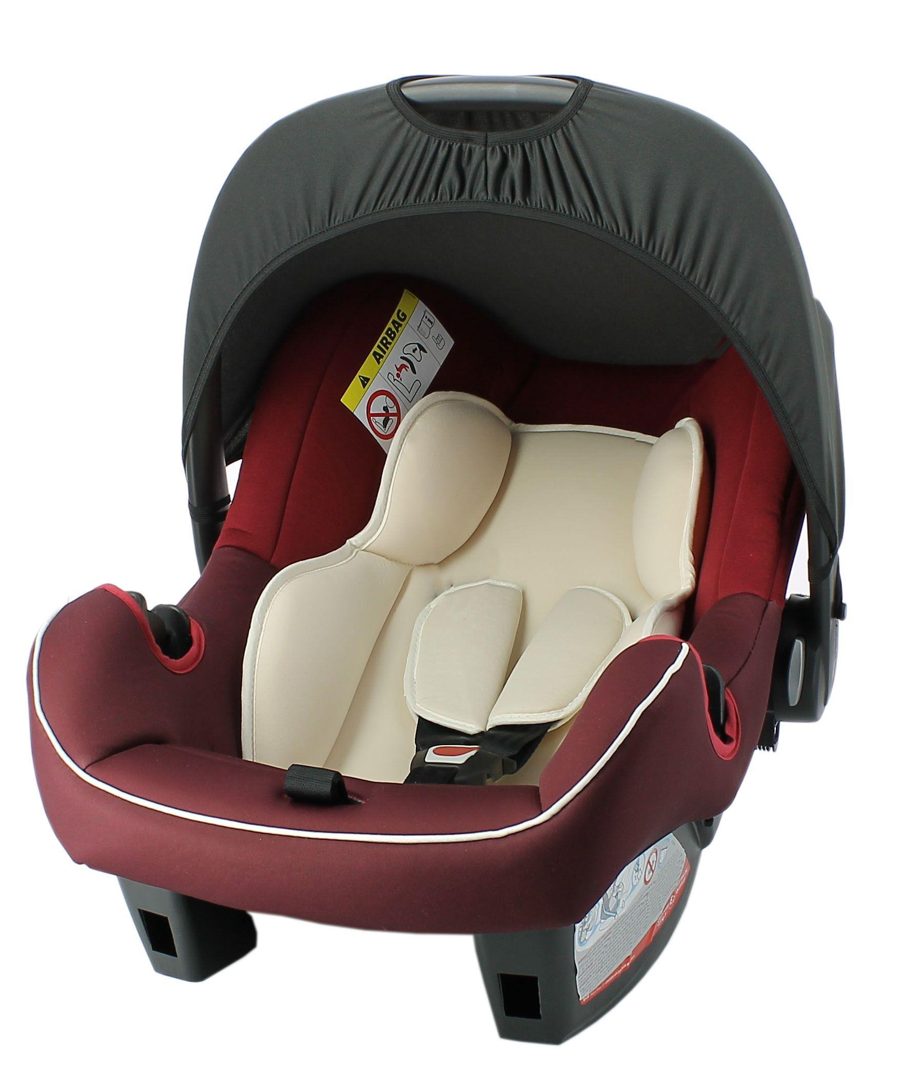 Siège auto bébé BEONE groupe 0+ (0-13kg) – Ziba red