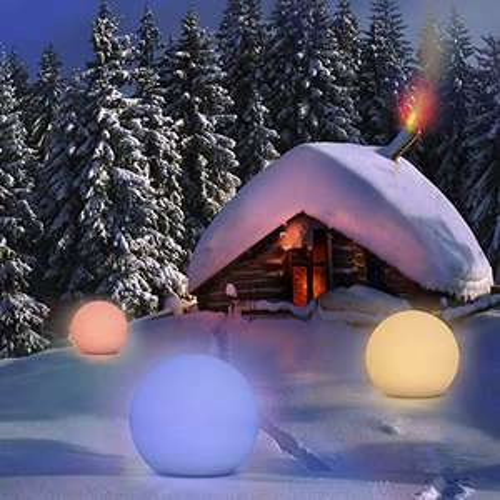 Lampe boule solaire d'extérieur Homever