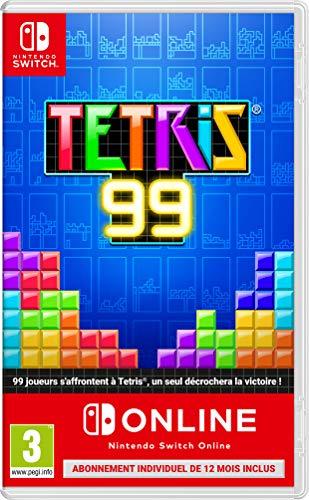 Tetris 99 sur Nintendo Switch + Abonnement de 12 Mois Online