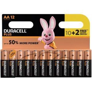 24 Piles Duracell Plus Power - LR6 ou LR03