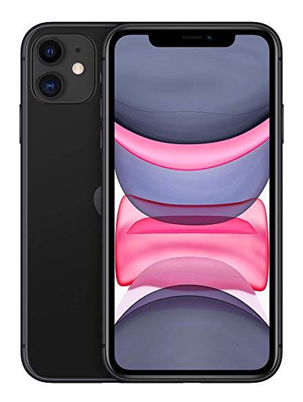 "Smartphone 6.1"" Apple iPhone 11 - 256 Go (Noir ou Blanc)"
