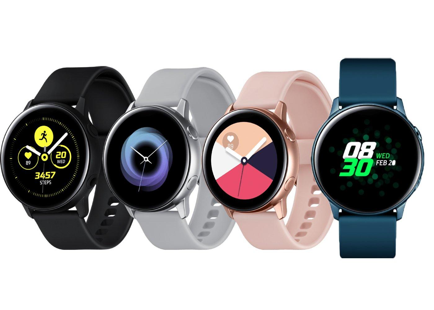 Montre connectée Samsung Galaxy Watch Active SM-R500 - 39.5mm, Turquoise (+2€ Argent +3€ Noir)