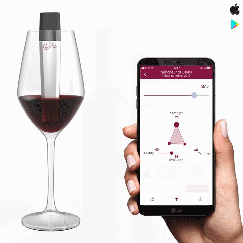 Scanner de vin connecté MyOeno (myoeno.com)