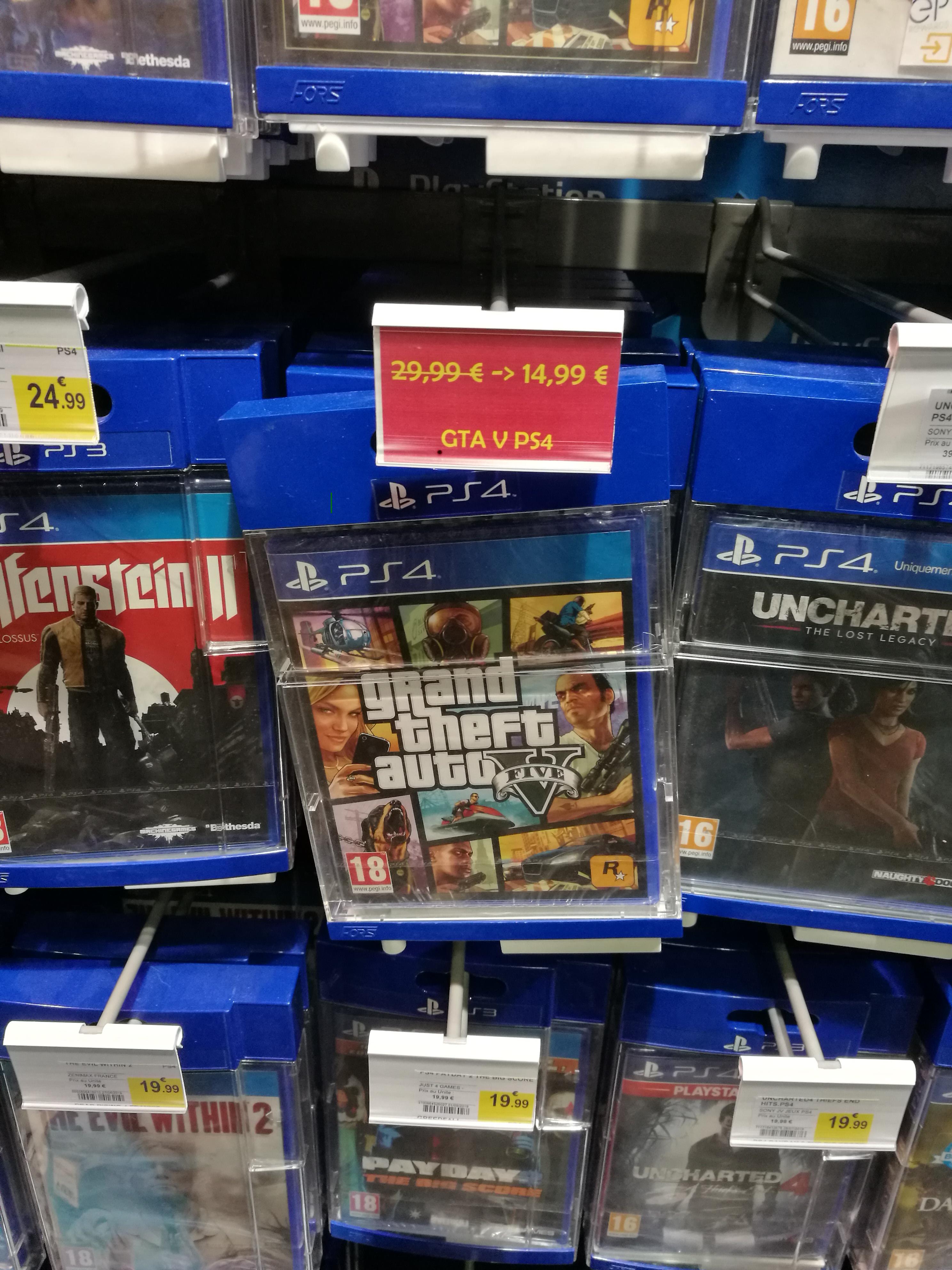 Grand Theft Auto V (GTA V) sur PS4 - Andrézieux (42)