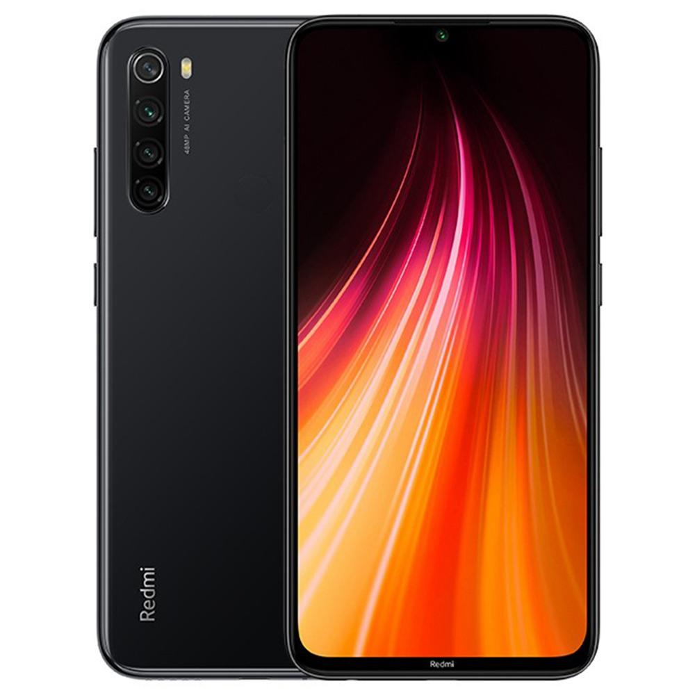 """Smartphone 6.3"""" Xiaomi Redmi Note 8T - Full HD+, Snapdragon 665, RAM 4 Go, ROM 64 Go, Noir (Nouvelle version avec B20/B28 et NFC)"""