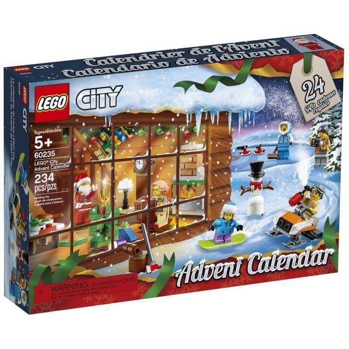 Calendrier de l'avent Lego City 60235