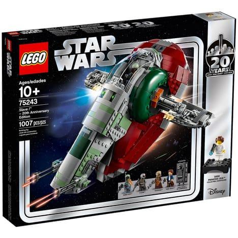Jouet Lego Star Wars 75243 - Slave l Édition 20ème anniversaire (via 25€ sur la carte de fidélité)