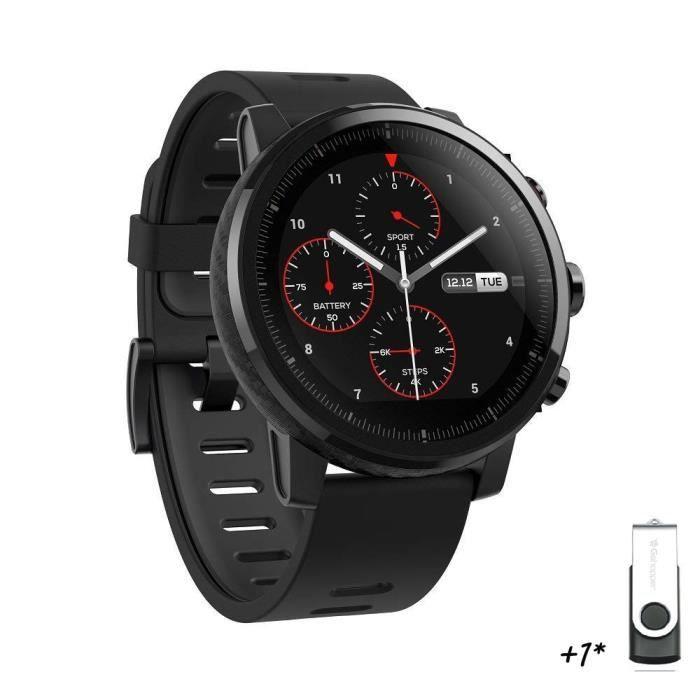 Montre connectée Xiaomi Amazfit Stratos - Noir (Vendeur Tiers)