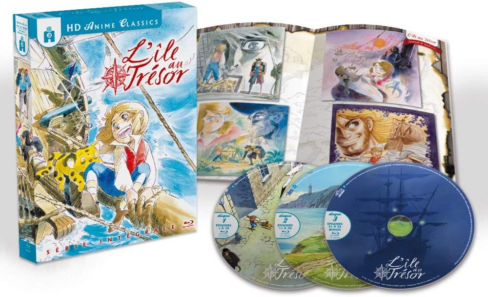 Coffret Blu-ray L'île au trésor - L'intégrale