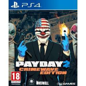 PayDay 2 - Crimewave Edition sur PS4
