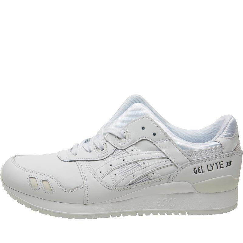 Chaussures Asics Tiger Baskets Gel Lyte III Blanc