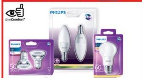 50% de réduction sur les ampoules LED Philips