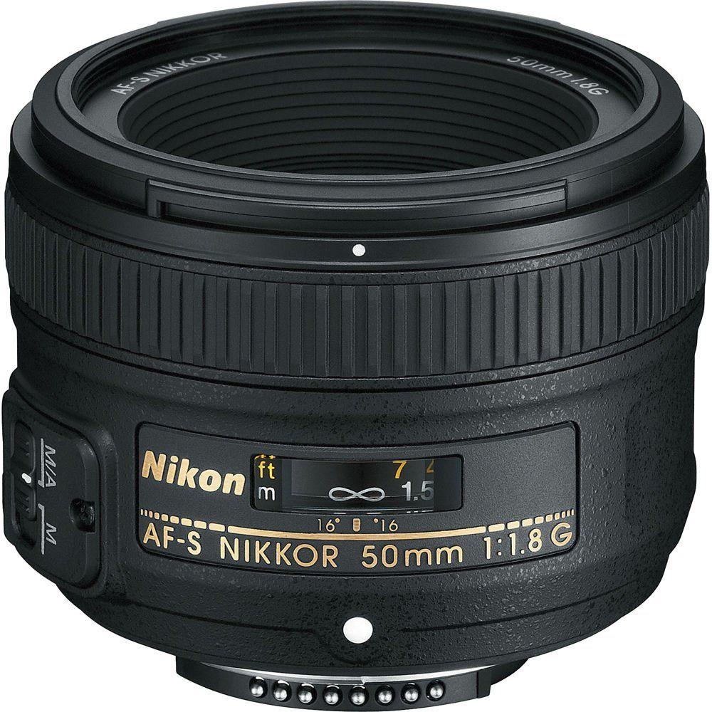 Objectif photo Nikon AF-S Nikkor 50 mm f/1.8G
