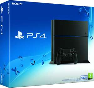 Console Sony Playstation PS4 500 Go black or white (Nouveau châssis C)