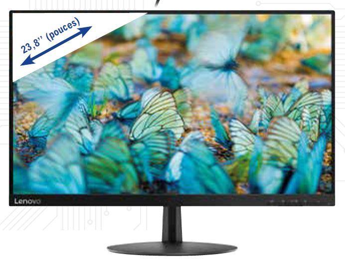 """Ecran PC 24"""" Lenovo L24e-20 - Full HD, 60 Hz"""