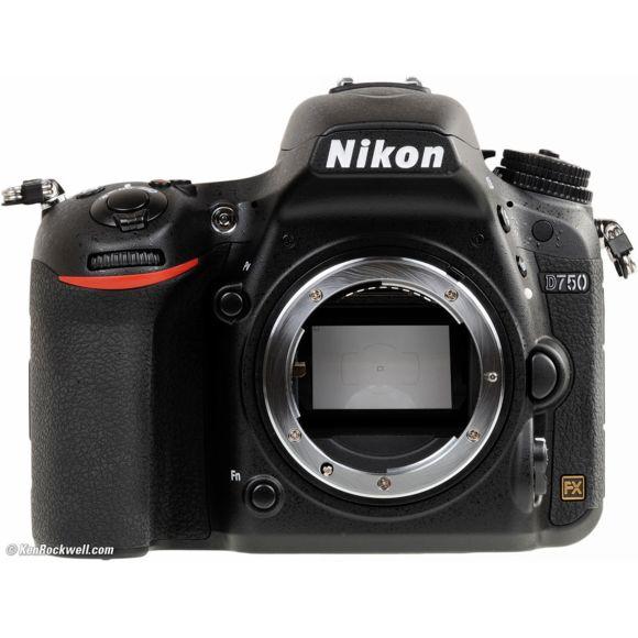 Appareil photo Reflex Nikon D750 Boitier nu (vendeur tiers)