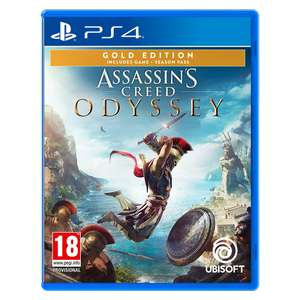 Assassin's Creed Odyssey Gold Edition sur PS4