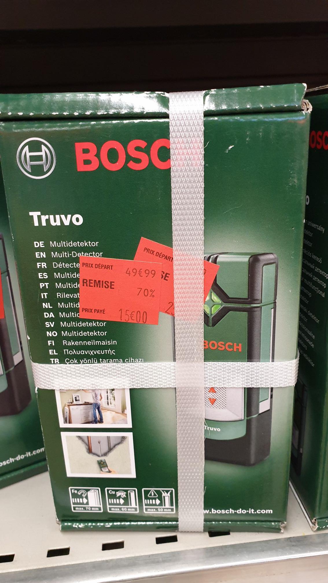 70% de réduction sur une sélection d'outils Bosch - Ex : Détecteur de métaux Bosch à 5€ (via 10€ d'Odr) - Le Mans (72)