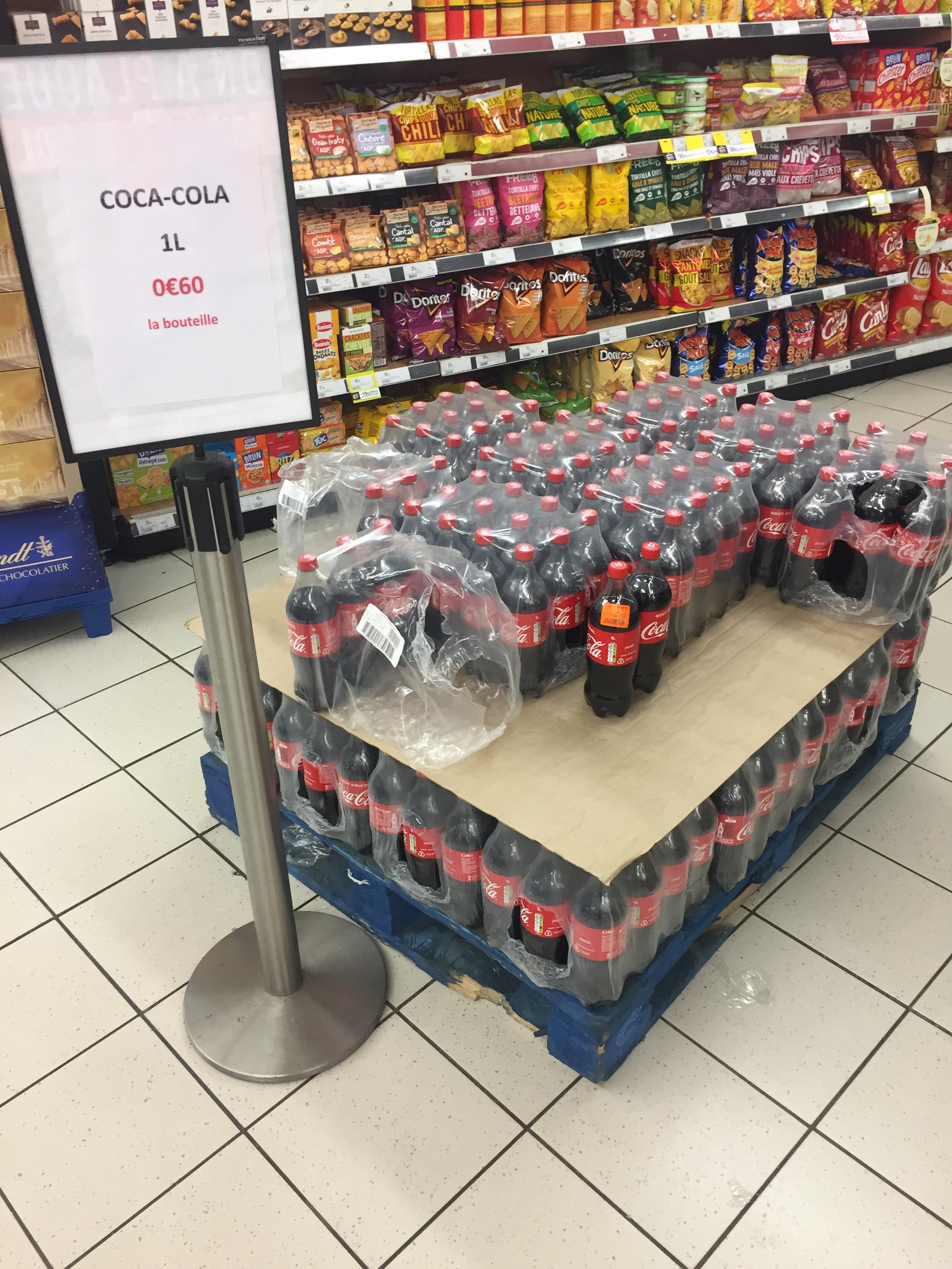 Bouteille de Coca-Cola - 1L - Aubervilliers (93)
