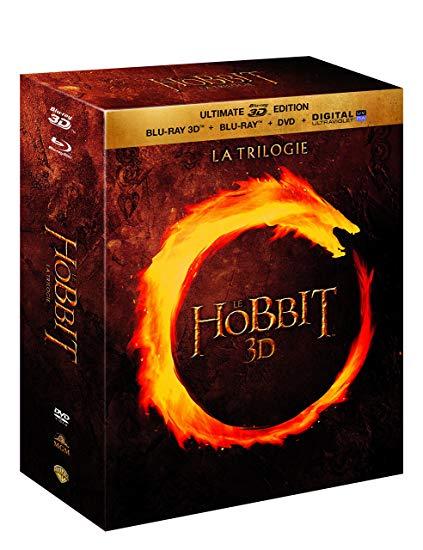Coffret Blu-ray +3D + DVD Le Hobbit - La trilogie (Vendeur tiers)