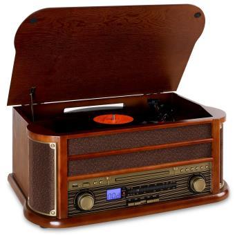 Platine vinyle AunaRM1-Belle Epoque 1908 - Bluetooth, Letceur CD, Port USB (vendeur tiers)