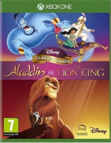 Jeu Disney Classic : Aladdin et Le roi lion sur Xbox One - Jeu FR / Boitier UK (24€ avec le code RAKUTEN5)