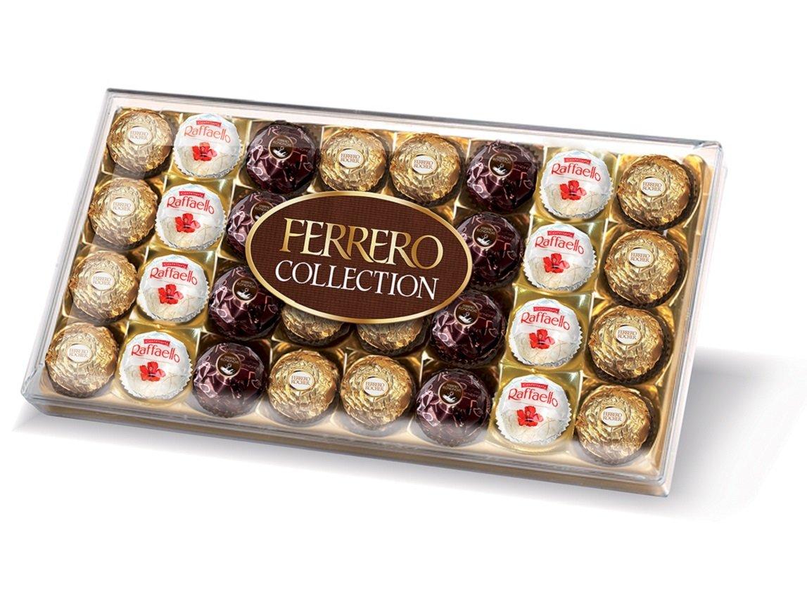 Coffret Cadeau Chocolat Ferrero Collection - 32 pièces