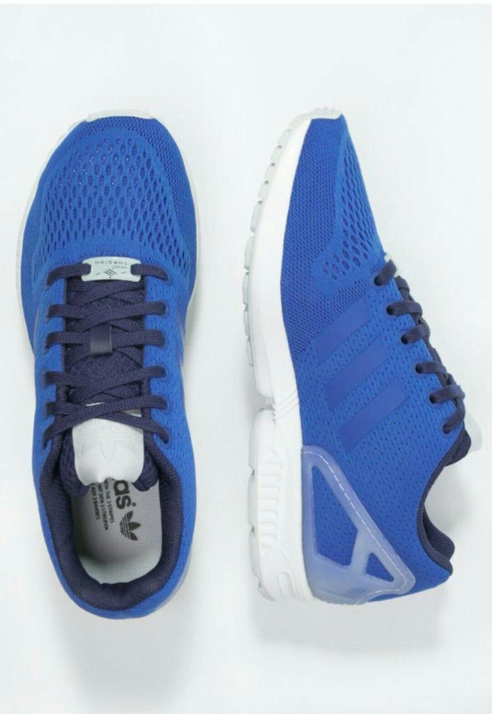 Vente privée Adidas - Ex : Baskets basses ZX Flux - bleu roi