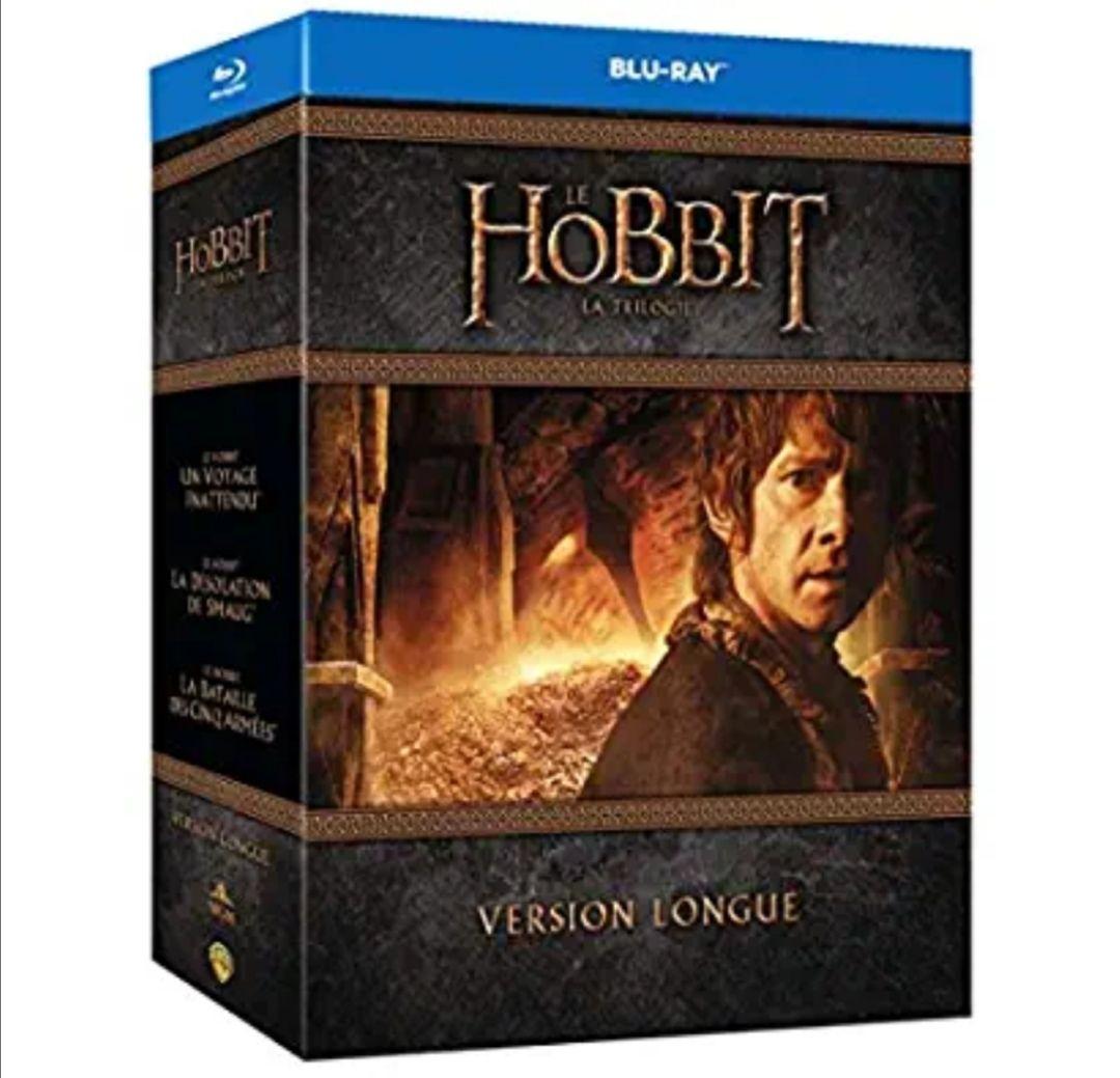 Coffret Blu-Ray Le Hobbit - La Trilogie, version longue (vendeur tiers)