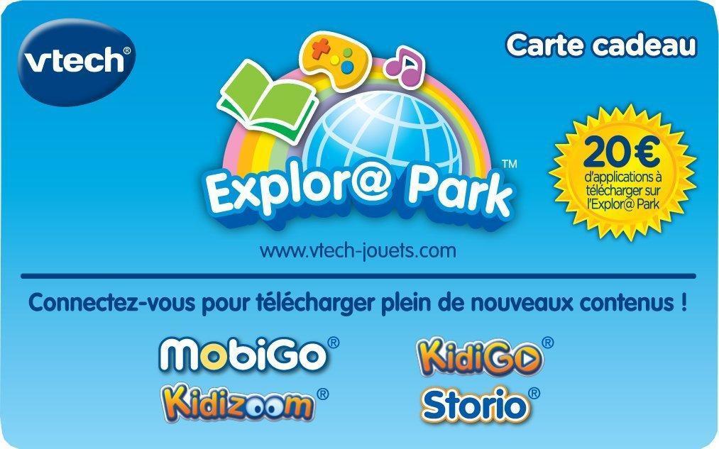 Carte cadeau de 20€ Explora Park VTech