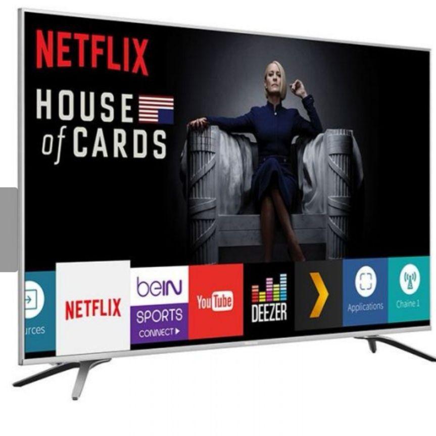 """TV LED 55"""" Hisense H55A6500 - UHD 4K, Smart TV"""