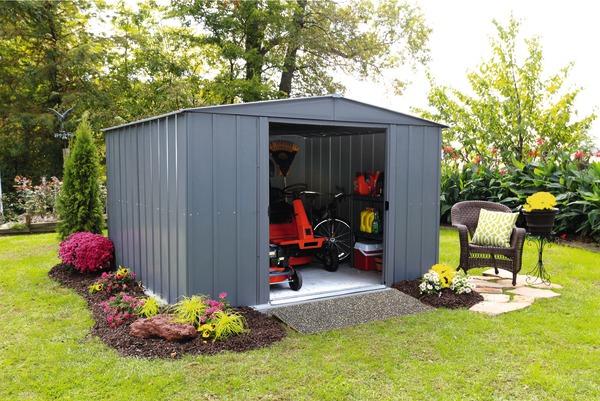 Abri de jardin en métal 4,98 m²