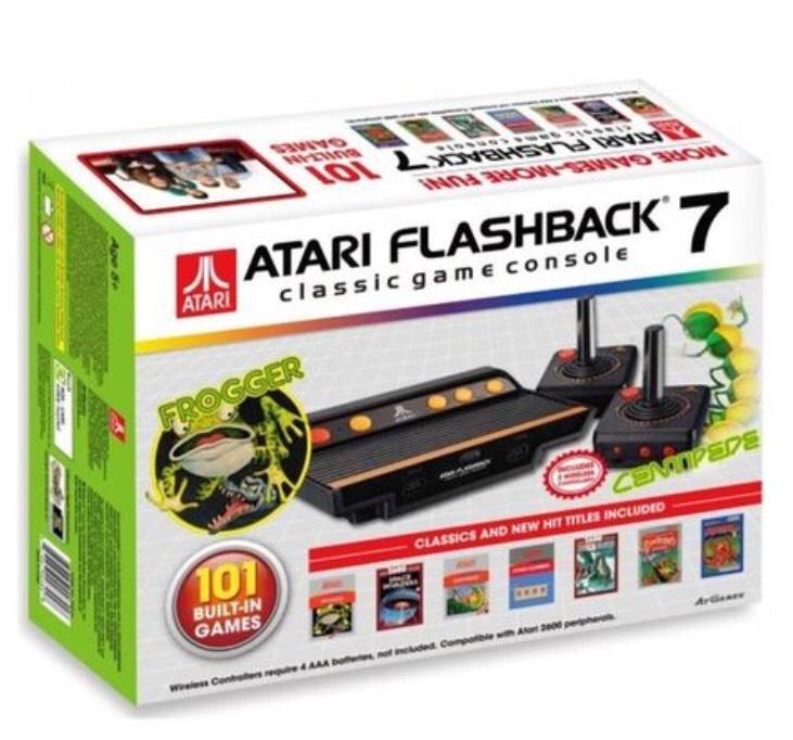 Console rétro Atari flashback 7 frogger