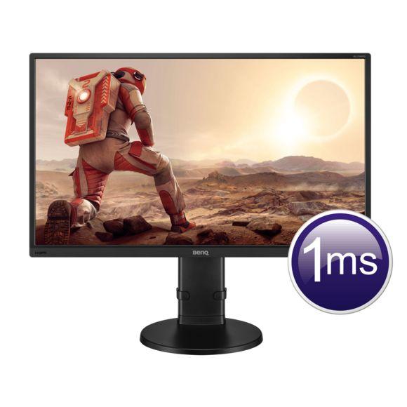 """Écran PC 27"""" BenQ GL2706PQ - LED, QHD 2560x1440, 1ms, Flickfree, Haut-parleurs"""