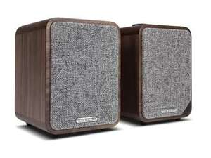 Paire d'Enceintes Ruark Audio MR1 MK2 Walnut / Blanc