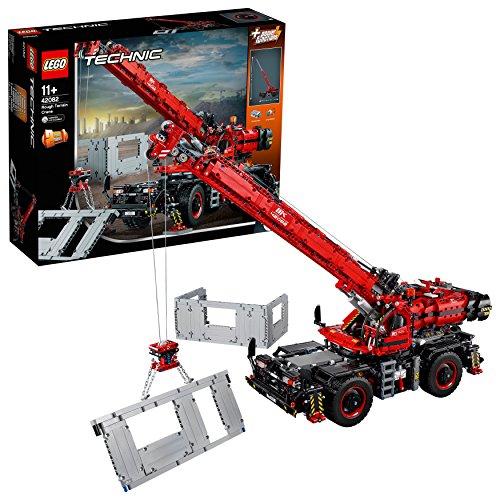 Jouet Lego Technic - La Grue Tout terrain (42082)