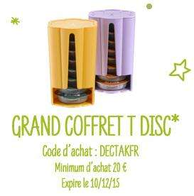 Grand Coffret T-disc offert dès 20€ d'achat