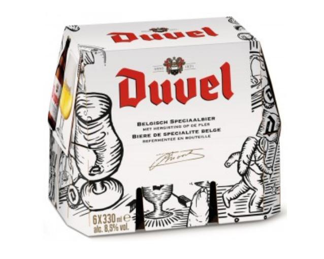 1 Pack de bière blonde Duvel - 6 x 33cl