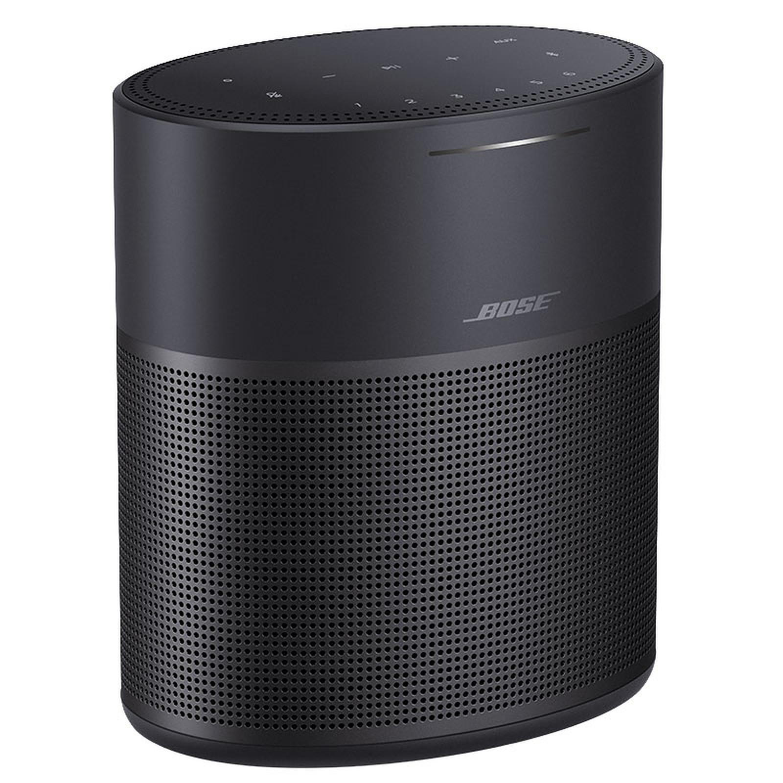 Enceinte sans fil multiroom Bose Home Speaker 300 - Noir (Alexa et Google Assistant)