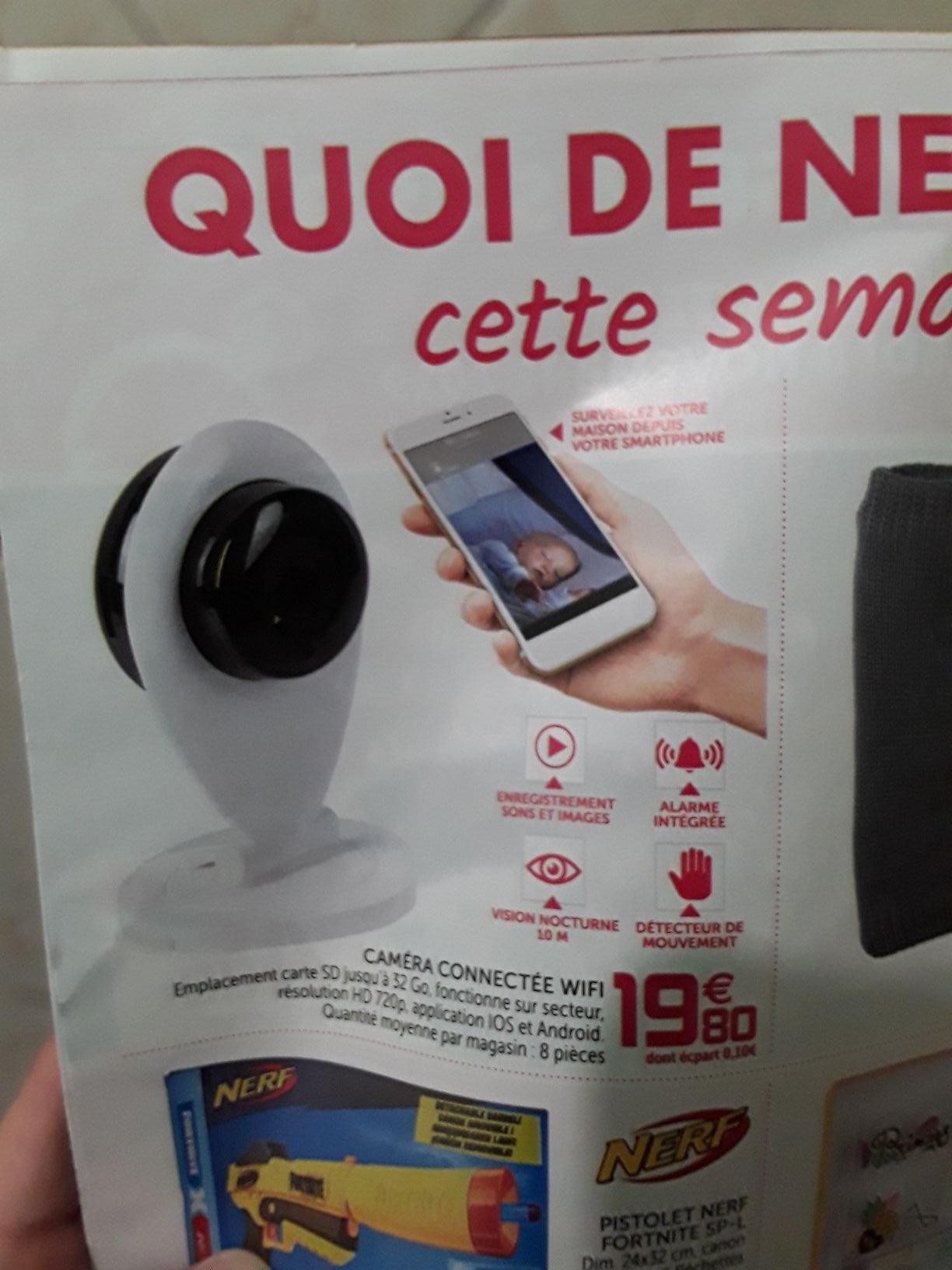 Caméra connecté WiFi