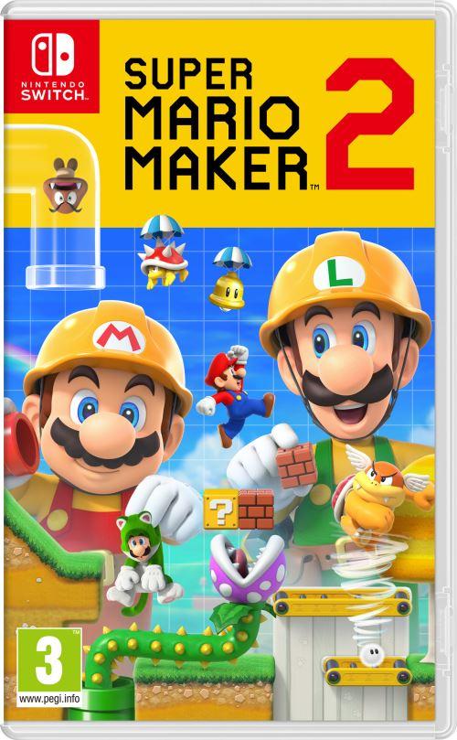 Super Mario Maker 2 sur Nintendo Switch + Stylet + Steelbook