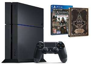 Pack Console Sony PS4 500 Go + Assassin's Creed : Syndicate + Steelbook